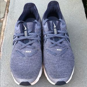 Nike Boys AirMax Sequent 3 Obsidian Blue/White